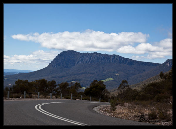 Beautiful Views over Tasmania during our Campervan Road Trip