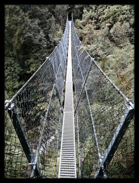 Montezuma Falls Suspension Bridge