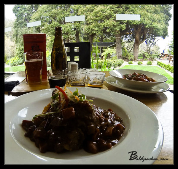 Wallaby Stew at Cascade Brewery Restaurant, Hobart, Tasmania