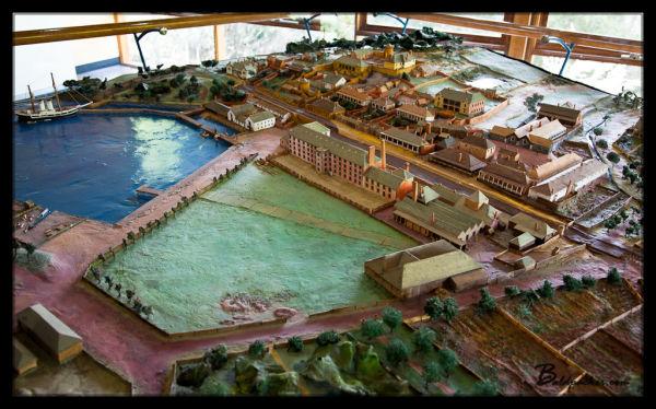 Model of Port Arthur Penal Colony