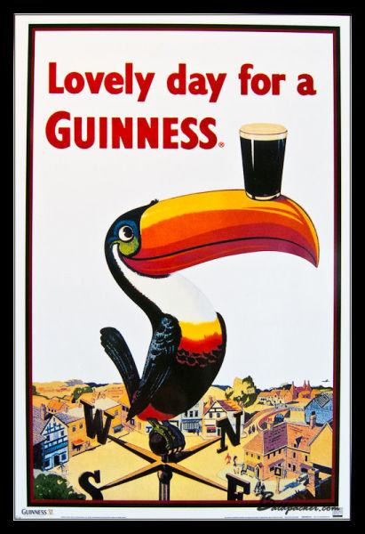 Guinness Poster Dublin
