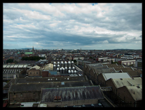 Views from Guinness Brewery