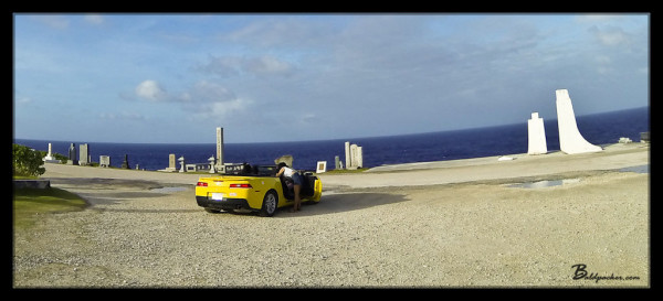 Asians Love Renting Muscle Cars in Saipan