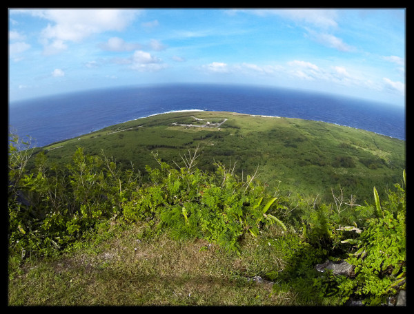 Top of Suicide Cliff, Saipan