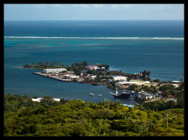 View Over Colonia, Yap