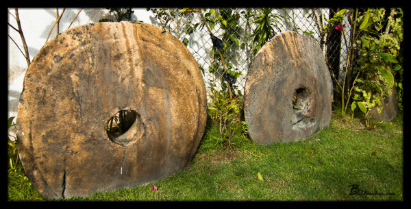 Stone Money in Colonia, Yap