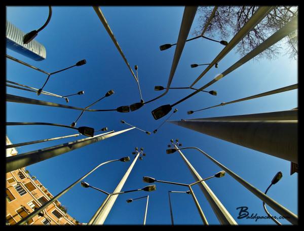 Street Light Installation, Bilbao