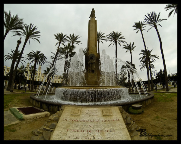 Fountain, Plaza de Espana, Melilla