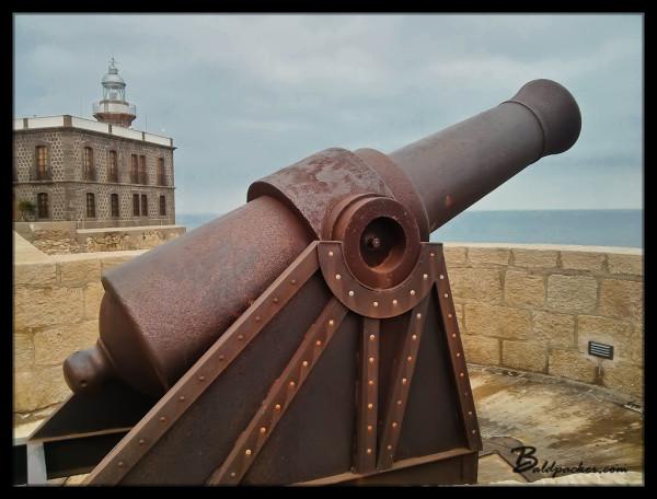 Large Cannon, Melilla la Vieja Fortress