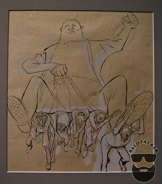 Artist's Interpretation of the Corruption in Communism