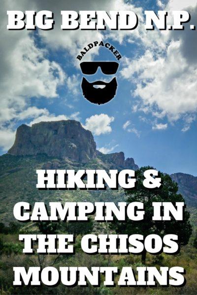 Chisos Big Bend Hiking Camping