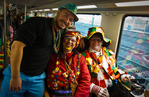 My New German Drinking Buddies on the Train to Cologne