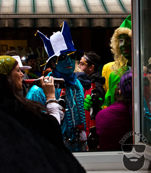Cologne Carnival Crazy Days = Street Party!