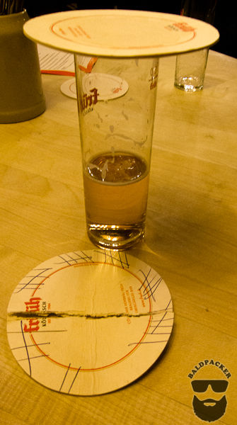 A Coaster on Top Means You're Finished Drinking
