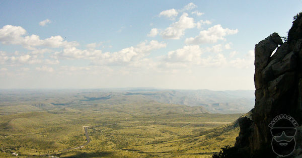 A View from Guadalupe Mountain East towards the Permian Basin
