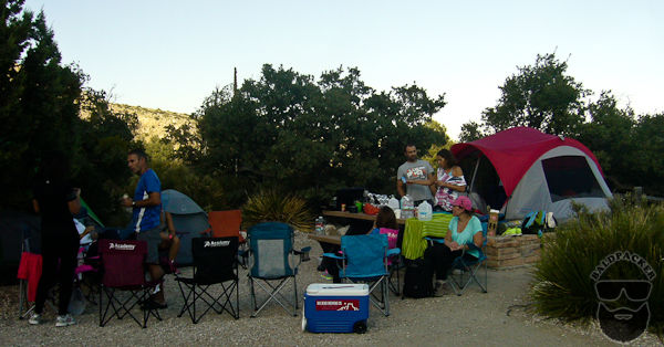 Pine Canyon Group Campsite, Guadalupe Mountains National Park