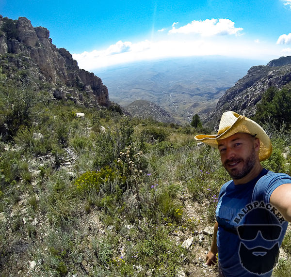 Views from Guadalupe Mountain, Guadalupe National Park