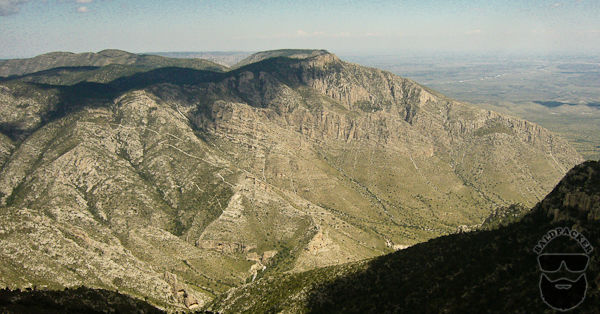 Hunter Peak in Guadalupe Mountains National Park