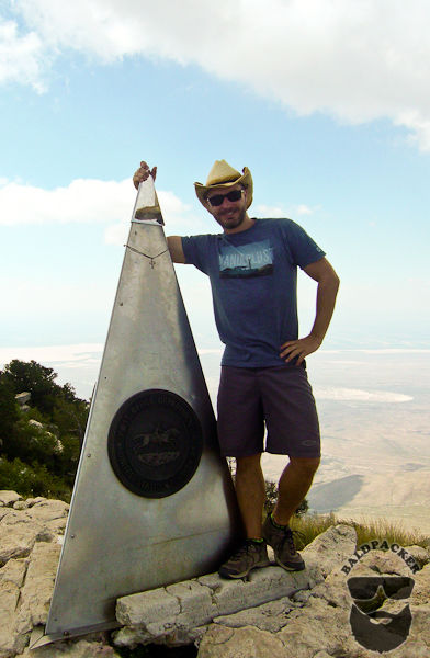 All Smiles on the Top of Texas, Guadalupe Mountain Peak