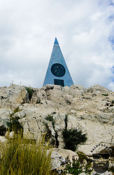 Guadalupe Mountain Peak Marker