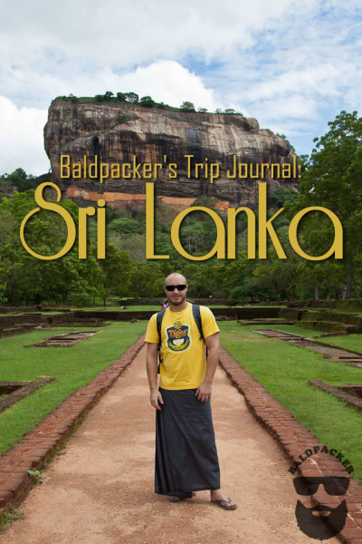 Baldpacker's Sri Lanka Trip Journal