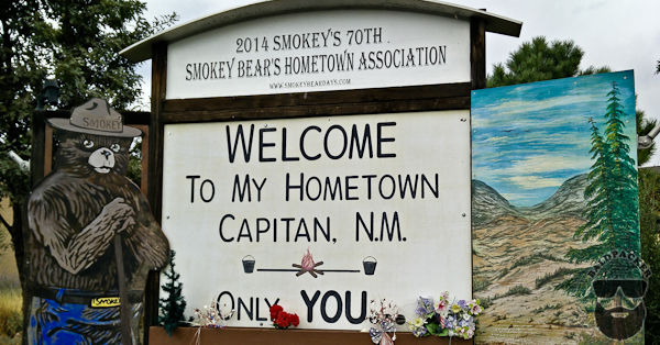 Capitan NM, Home of Smokey the Bear