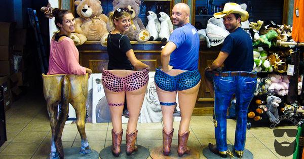 Whites City Gift Shop Bar Stools