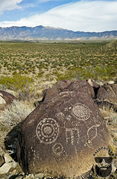 Petroglyphs and the Sacramento Mountains