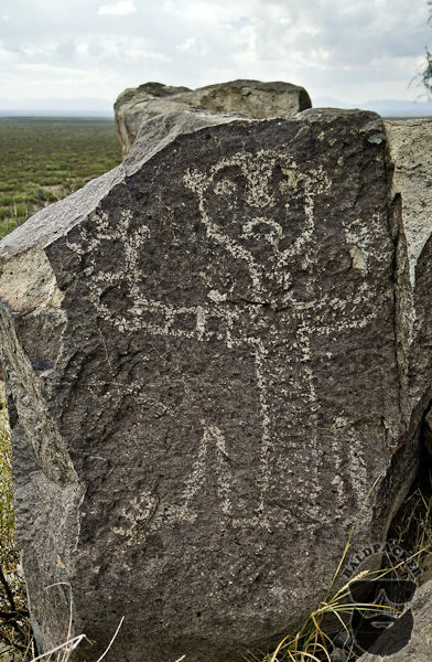 I Loved This Petroglyph Even Though I Have No Idea What It Depicts