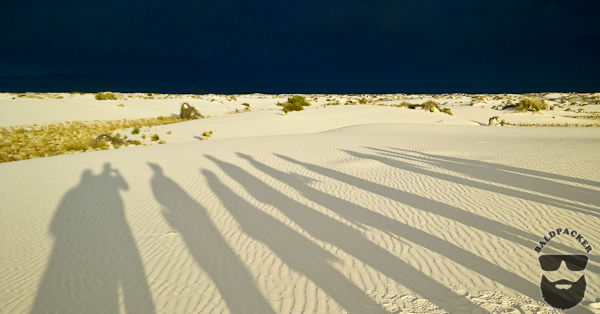 Long Shadows and Dark Skies During the Sunset Tour