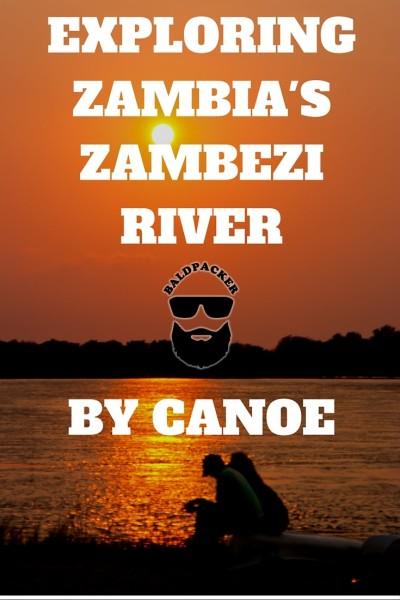 Canoe Zambezi Zambia