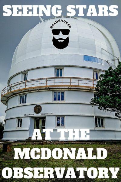 McDonald Observatory Star Tours