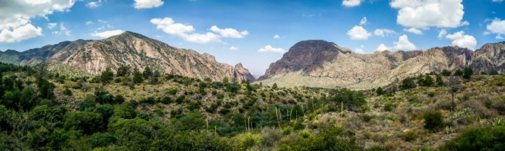 Chisos Mountains Big Bend